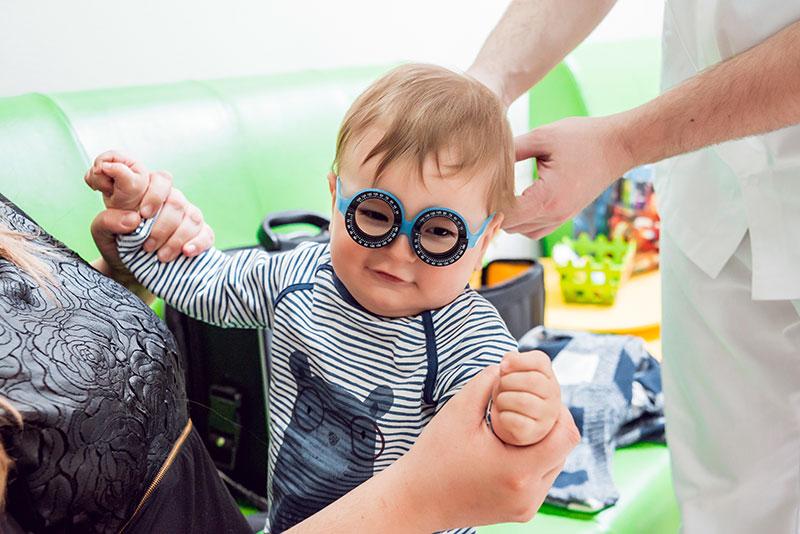 infant eye exam