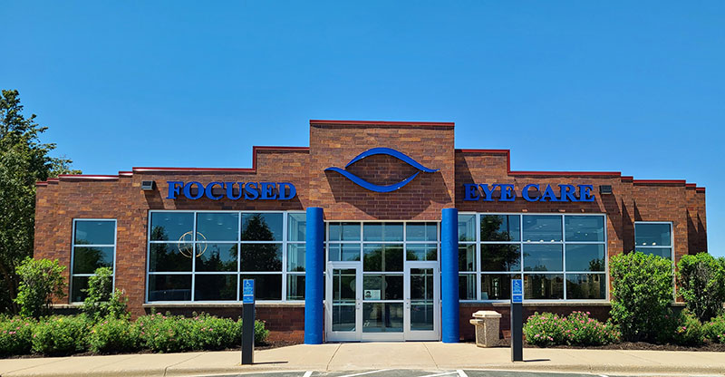 Exterior of Focused Eye Care
